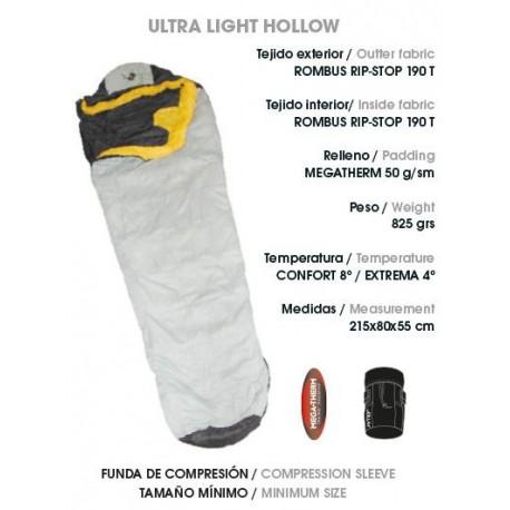 SACO DE DORMIR JOLUVI ULTRA LIGHT HOLLOW