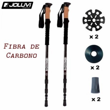 BASTON TREKKING JOLUVI CARBON