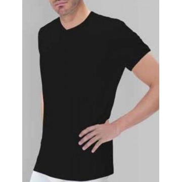 CAMISETA POLAR THERMAL M/CORTA FELPA C/PICO