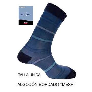 CALCETIN CASUAL ALGODON KLER MESH