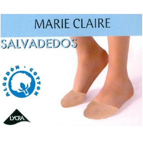 SALVADEDOS ALGODON LYCRA MC 2 PARES COLOR NATURAL