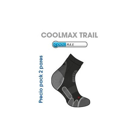 CALCETIN JOLUVI COOLMAX TRAIL PACK 2