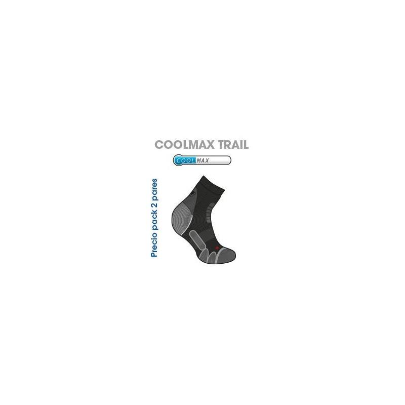 CALCETIN JOLUVI COOLMAX TRAIL PACK 2 - Creaciones Casbas