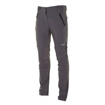 PANTALON MUJER OUTDOOR DESMONTABLE JOLUVI RIPS ANTRACITA