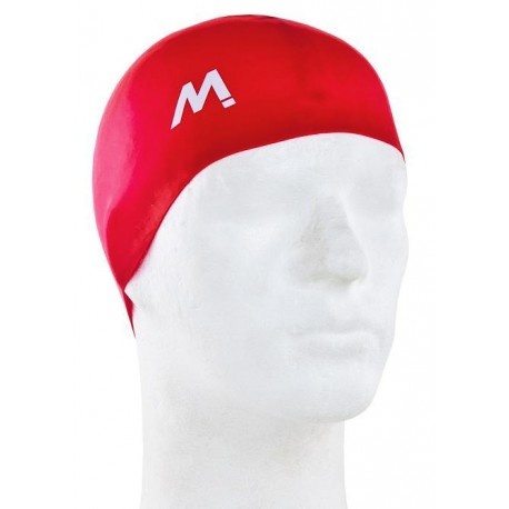 GORRO NATACION MOSCONI SILI-CHAMPION JUNIOR ROJO