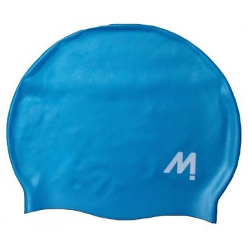 GORRO NATACION MOSCONI SILI-CHAMPION JUNIOR AZUL
