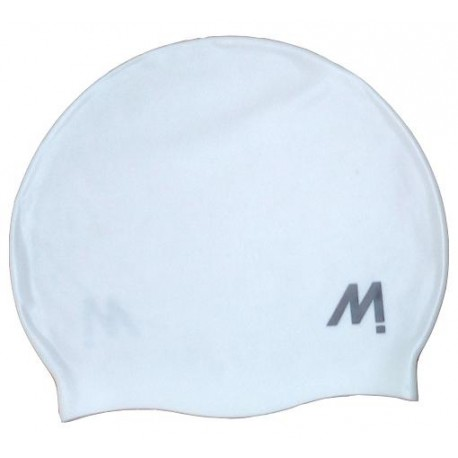 GORRO NATACION MOSCONI SILI-CHAMPION JUNIOR BLANCO