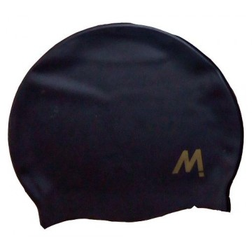 GORRO NATACION MOSCONI SILI-CHAMPION JUNIOR NEGRO