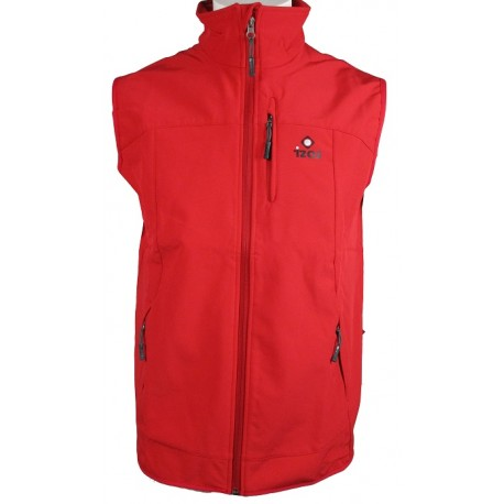 CHALECO SOFTSHELL IZAS VALLEY ROJO