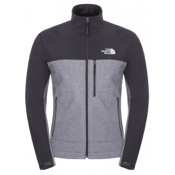 CHAQUETA SOFTSHELL NORTH FACE APEX BIONIC NEGRO/GRIS