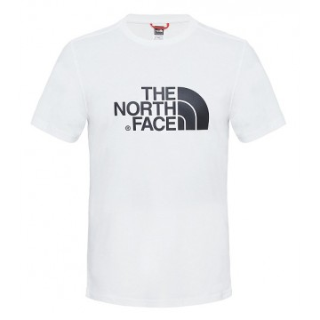 CAMISETA MANGA CORTA NORTH FACE EASY TEE BLANCO