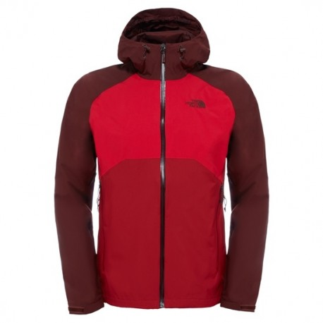 CHAQUETA LIGERA STRATOS JACKET NORTH FACE ROJO OSCURO