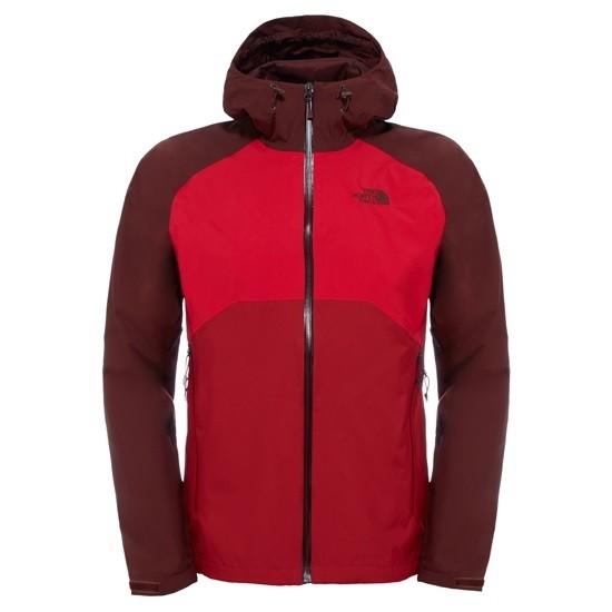 Rojo Oscuro Stratos North Face Ligera Chaqueta Creaciones Jacket qUYwUfX