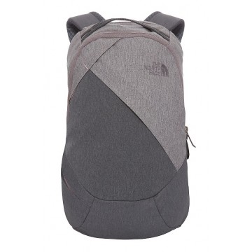 MOCHILA MUJER NORTH FACE ELECTRA GRIS/GRIS CLARO 12L