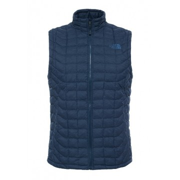 CHALECO FIBRA NORTH FACE THERMOBALL NAVY