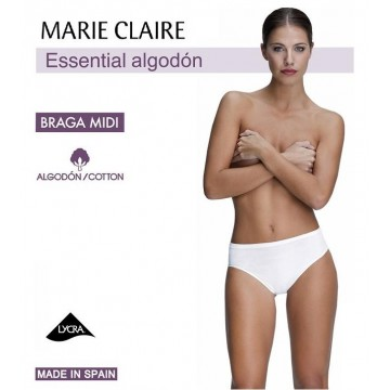 BRAGA MIDI ALGODON MC ESSENTIAL BLANCO