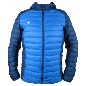 CHAQUETA DE FIBRA IZAS LIDON BLUE RIVER/BLUEMOON
