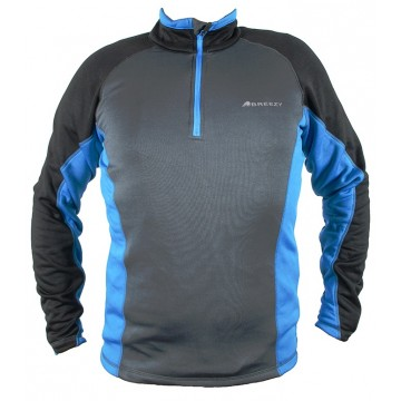 JERSEY POLAR STRETCH LIGERO BREEZY DISSON GRIS/AZUL