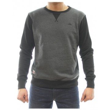 SUDADERA ALGODON POLYESTER N&S YANKEE GRIS