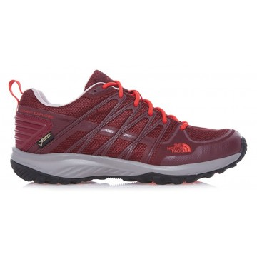 ZAPATILLA TREKKING MUJER NORTH FACE LITEWAVE EXPLORE GTX GRANATE