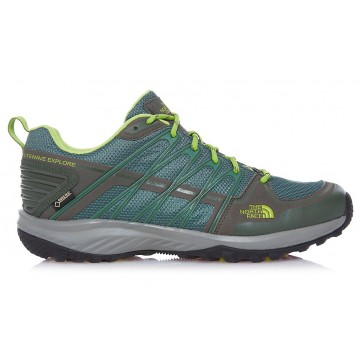 ZAPATILLA TREKKING NORTH FACE LITEWAVE EXPLORE GTX  VERDE