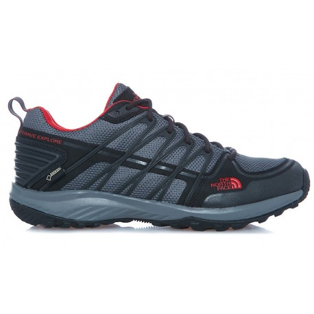 ZAPATILLA TREKKING NORTH FACE LITEWAVE EXPLORE GTX GRIS