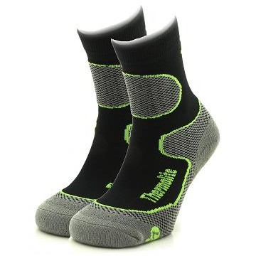 CALCETINES THERMOLITE TREKKING PACK 2 ANTRACITA/AMARILLO NEON
