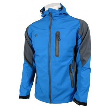 CHAQUETA SOFTSHELL IZAS VERAL BLUE RIVER/DARK GREY