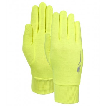 GUANTE LIGERO Y BRILLANTE TRESPASS GLO FURTHER AMARILLO FLUOR