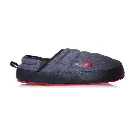 PANTUNFLAS THERMOBALL NORTH FACE TRACTION MULE II GRIS/ROJO