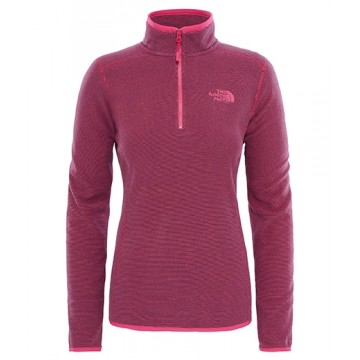 JERSEY WOMAN POLARTEC 100 GLACIER 1/4 ZIP