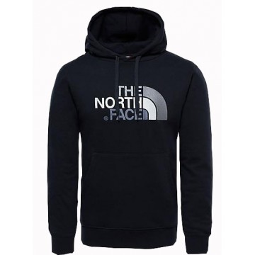 SUDADERA DREW PEAK THE NORTH FACE BLACK