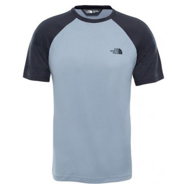 CAMISETA THE NORTH FACE RAGLAN TEE ASPHALT GREY