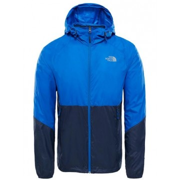 CHAQUETA THE NORTH FACE FLYWEIGHT HOODIE AZUL