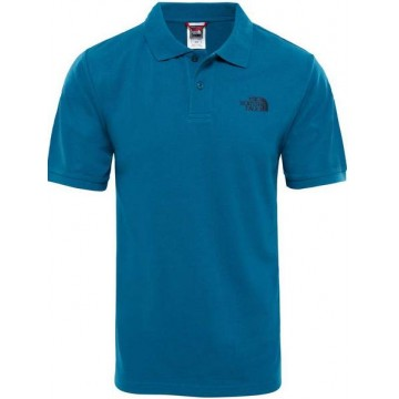 POLO THE NORTH FACE PIQUET BLUE CORAL