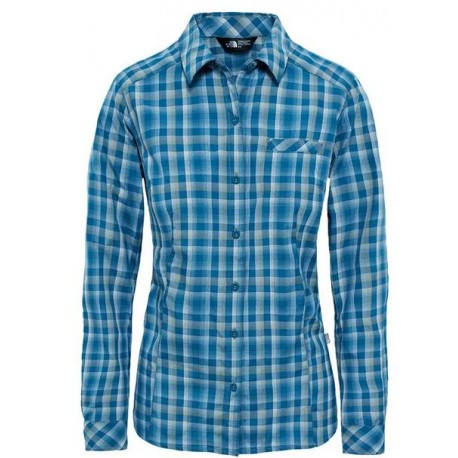 CAMISA THE NORTH FACE WOMAN ZION BLUE CORAL