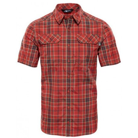 CAMISA THE NORTH FACE PINE KNOT BOSSA RED