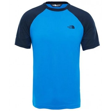 CAMISETA THE NORTH FACE RAGLAN TEE URBAN NAVY