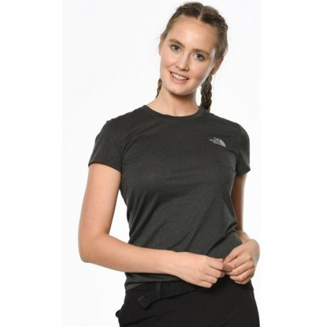 CAMISETA THE NORTH FACE WOMAN HEATHER GRY