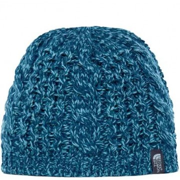 GORRO CABLE MINNA BEANIE BLUE