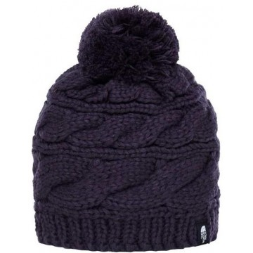 GORRO THE NORTH FACE W TRIPLE CABLE BNE DARK EGGPLANT