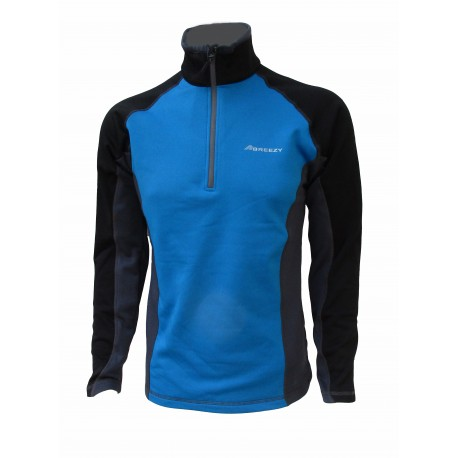 JERSEY POLAR STRETCH LIGERO BREEZY DISSON AZUL/GRIS
