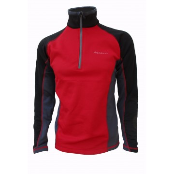 JERSEY POLAR STRETCH LIGERO BREEZY DISSON ROJO/GRIS