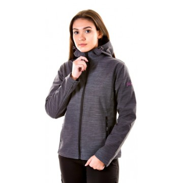 CHAQUETA SOFT SHELL-TECH PRINT W 618