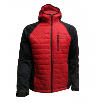 CHAQUETA BREEZY  HYBRID PADDING RED