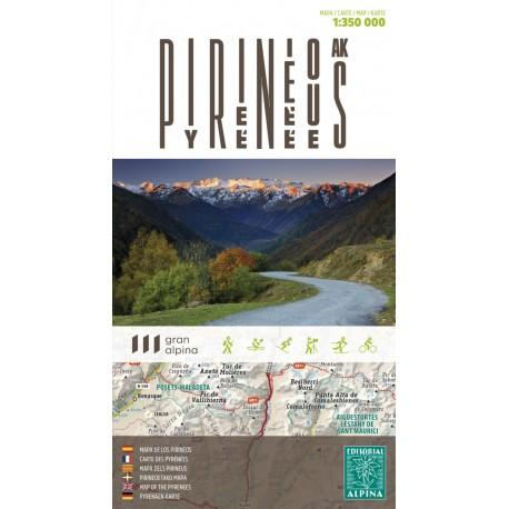 PIRINEUS/PIRINEOS/PYRENES 1:350.000