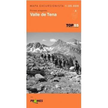 MAPA TOP 25. VALLE DE TENA