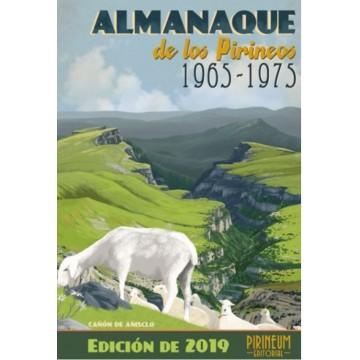 ALMANAQUE DE LOS PIRINEOS.1965-1975